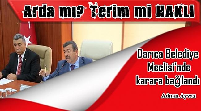 Arda Turan, Fatih Terim konusu Darıca Meclisi'nde karara bağlandı