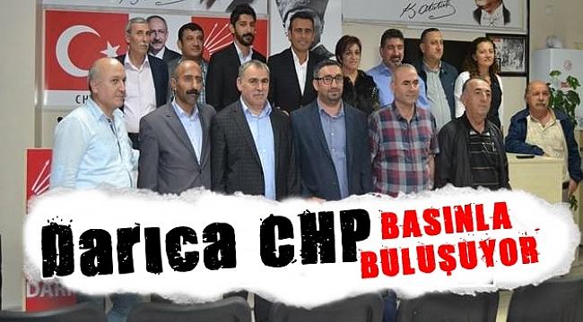 Darıca CHP basınla buluşuyor