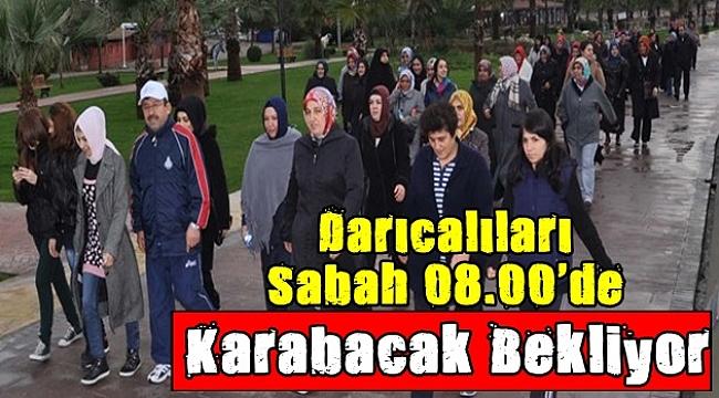 Karabacak'la spora devam