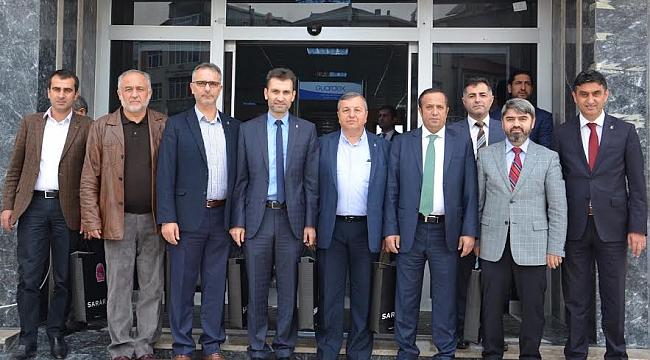 İlçe Başkanları Toltar'a gitti