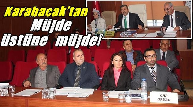 Karabacak'tan Müjde!