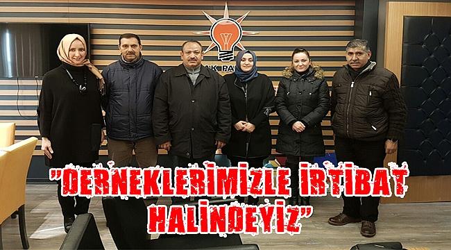 AK Partili kadınlar Marmara Roman Derneğiyle buluştu