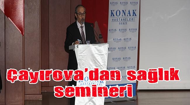 Çayırova Belediyesi, sağlık seminerlerine yenisini ekledi