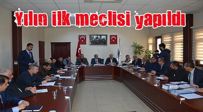 Dilovası Belediyesi  2017'nin ilk Meclisini gerçekleştirdi
