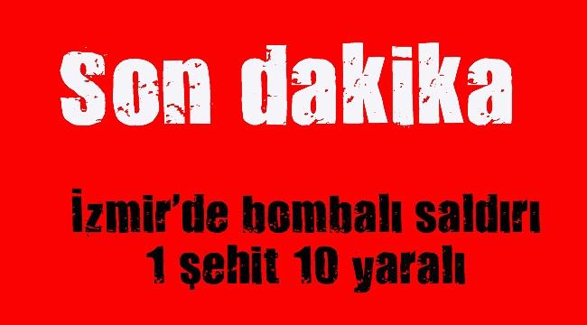İzmir Adliyesi'ne bombalı araçla saldırı
