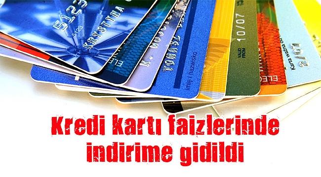 Kredi kartı faizlerine ''ince ayar''
