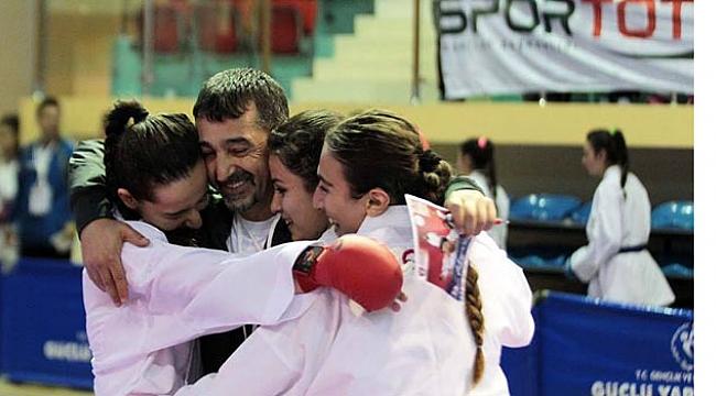 Rekorların adı: Şamdan Karate