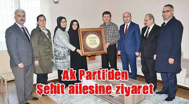 Ak Parti'den Şehit ailesine ziyaret