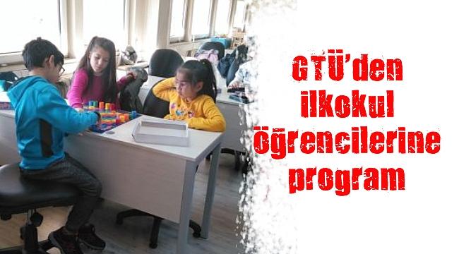 GTÜ'den ilkokul öğrencilerine program