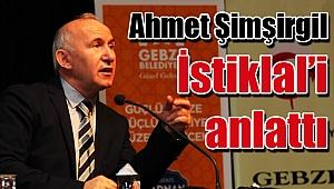 Ahmet Şimşirgil Gebze'de Çanakkale'yi anlattı