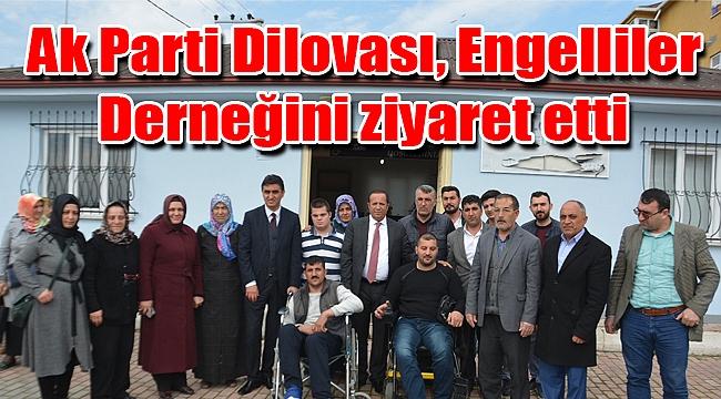 Ak Parti Dilovası, Engelliler Derneğini ziyaret etti