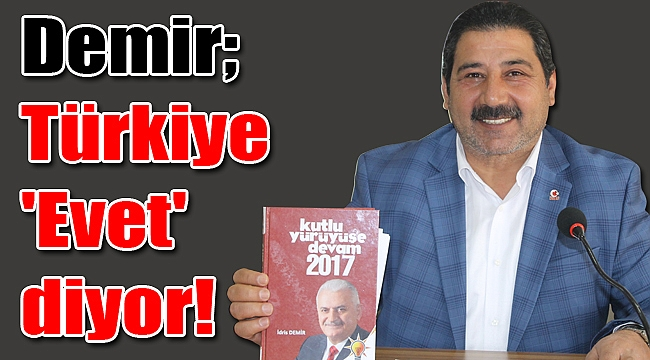 Çayırovalı siyasetçi İdris Demir, gazetecilerle bir araya geldi