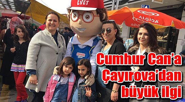 Cumhur Can'a Çayırova'dan büyük ilgi