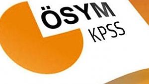 KPSS alan sınavları başvuruları hakkında açıklama