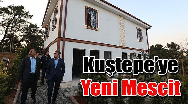 Kuştepe'ye Yeni Mescit