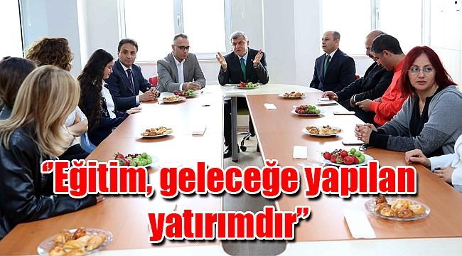 Başkan Karaosmanoğlu, ''Eğitim, geleceğe yapılan yatırımdır''