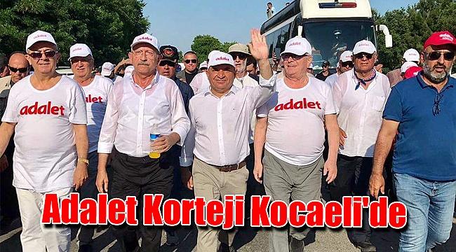 Adalet Korteji Kocaeli'de
