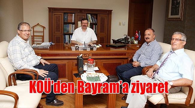 KOÜ'den Bayram'a ziyaret