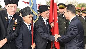 Vali Aksoy, Gaziler Günü programına katıldı