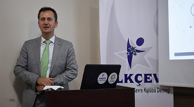 Prof. Dr. Haluk Görgün İLKÇEV'in konuğu oldu