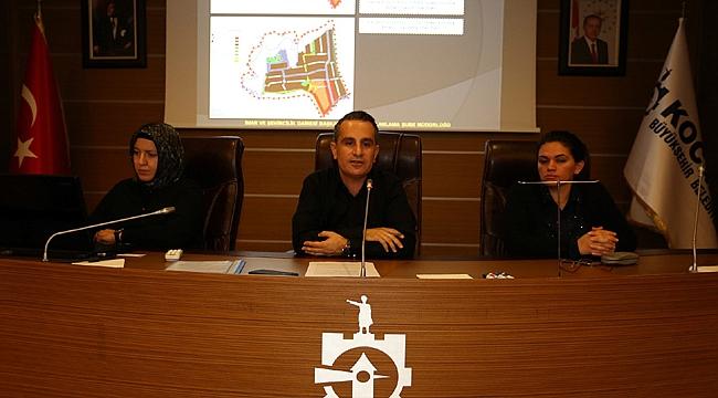 Büyükşehir'de GTÜ öğrencileri bilgilendirildi