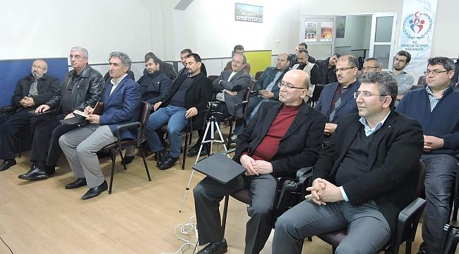 İLKÇEV,  Dr.Ergün Turan'ı konuk etti