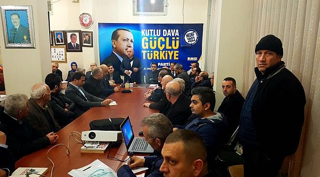 AK Darıca'da mahalle toplantıları