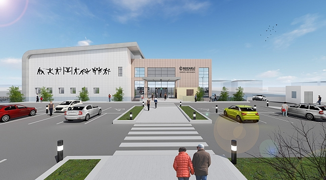 Gebze'ye modern bir spor merkezi