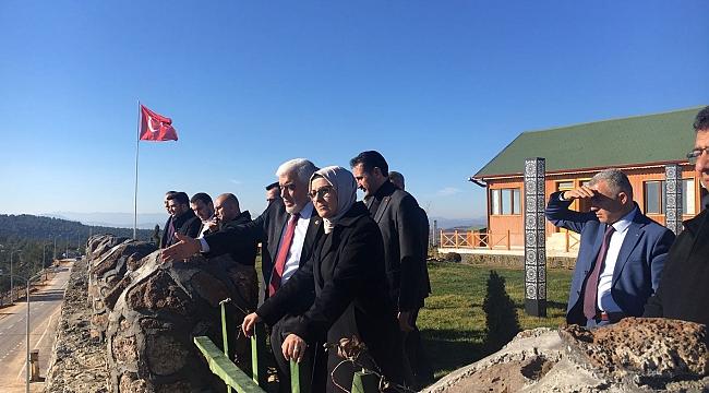 Katırcıoğlu Öncüpınar Sınır Karakolu'nda