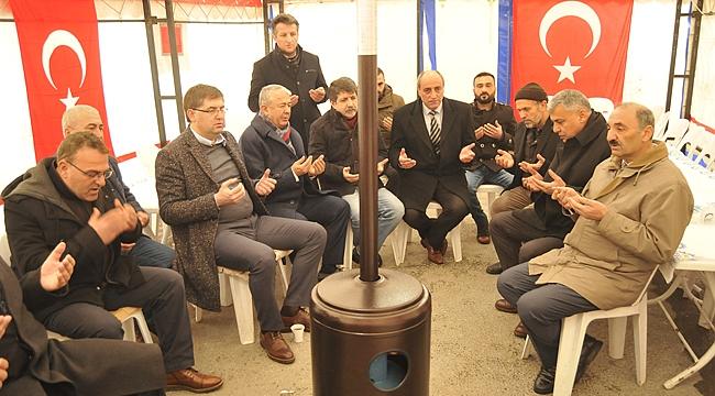 CHP'den Şehit İlker Ağçay'ın ailesine ziyaret