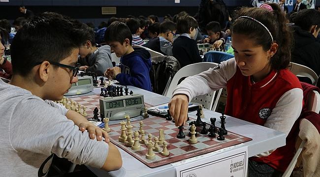 Satranç Ligi'nin Dördüncü etabı hafta sonu
