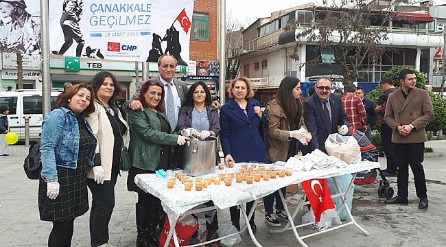 CHP Gebze'den Çanakkale etkinliği