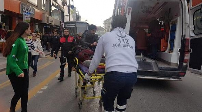 Gebze'de intihar girişimi!