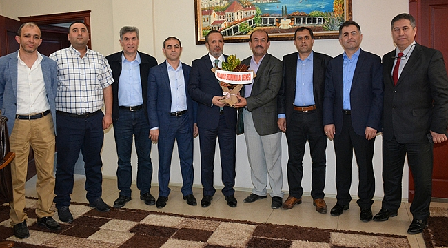 Erzurumlular Derneği'nden Toltar'a ziyaret