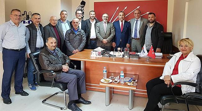 Giresun Dernekleri Federasyonu'ndan CHP'ye ziyaret