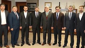 Karaosmanoğlu, KOTO yönetimini konuk etti