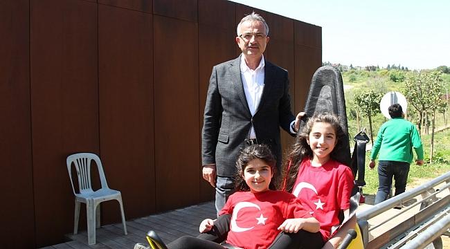 Çocuklar Macera'da eğlendi