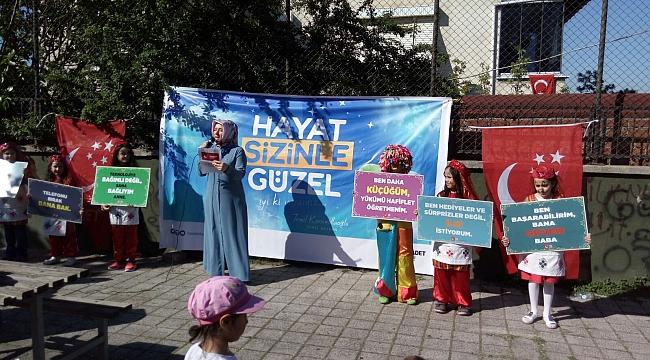 Saadet'li kadınlardan çocuklar için etkinlik