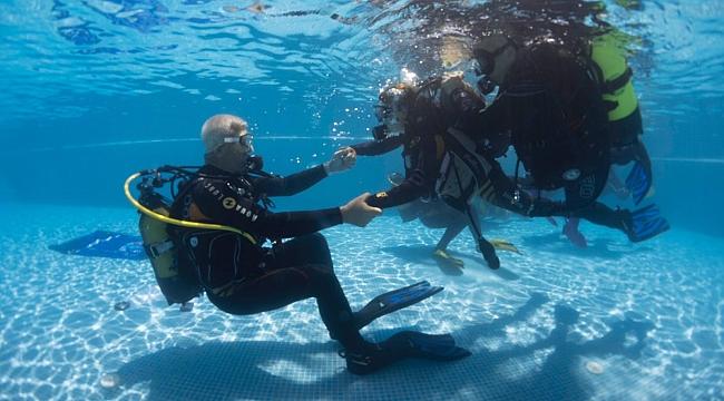 Engelliler su altı dünyasını keşfedecek