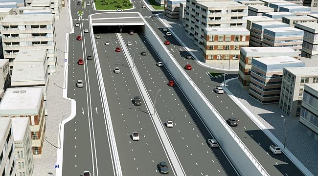 Karamürsel'de köprülü kavşak çalışmaları başladı