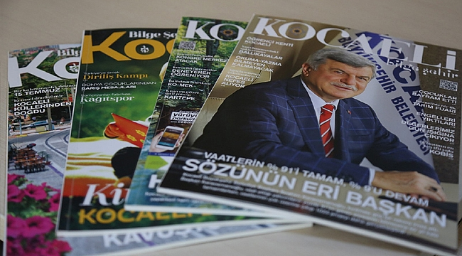 Kocaeli'nin yeni şehir ve yaşam dergisi