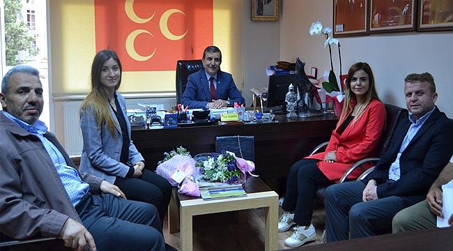 Samsunlular'dan Taşdemir'e ziyaret