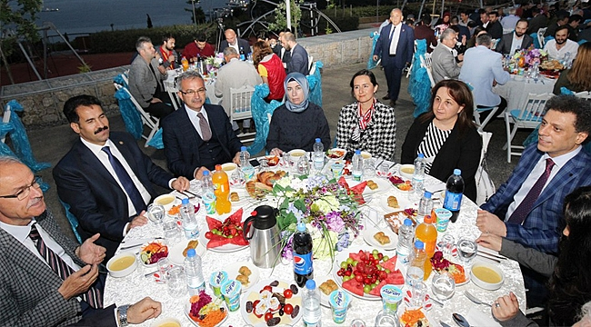 STK'ları buluşturan iftar