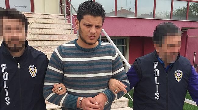 Tacizde bulunan Suriyeli tutuklandı