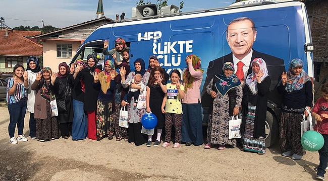 Kandıra'nın AK Kadınları seçime hazır