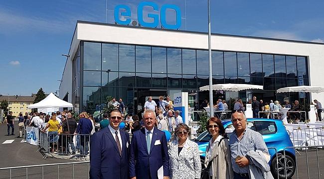 Çiler Almanya'da açılışa katıldı