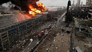 Çin'de patlama: 19 ölü 12 yaralı