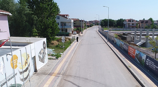 Köseköy Terzigölü Caddesi yenilendi