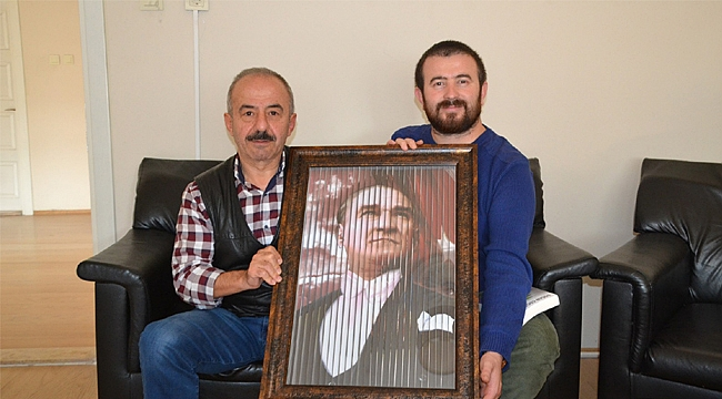 Aydın'dan gazetemize ziyaret