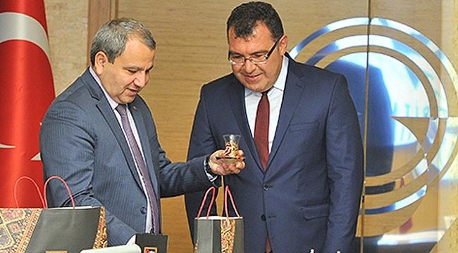 Babayev'den Mandal'a ziyaret
